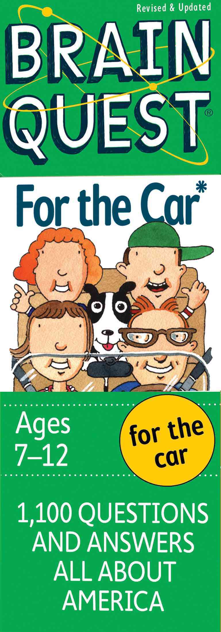 Brain Quest For The Car: Grade 3; 1,100 questions, 1,100 Answers All About America (Cards)