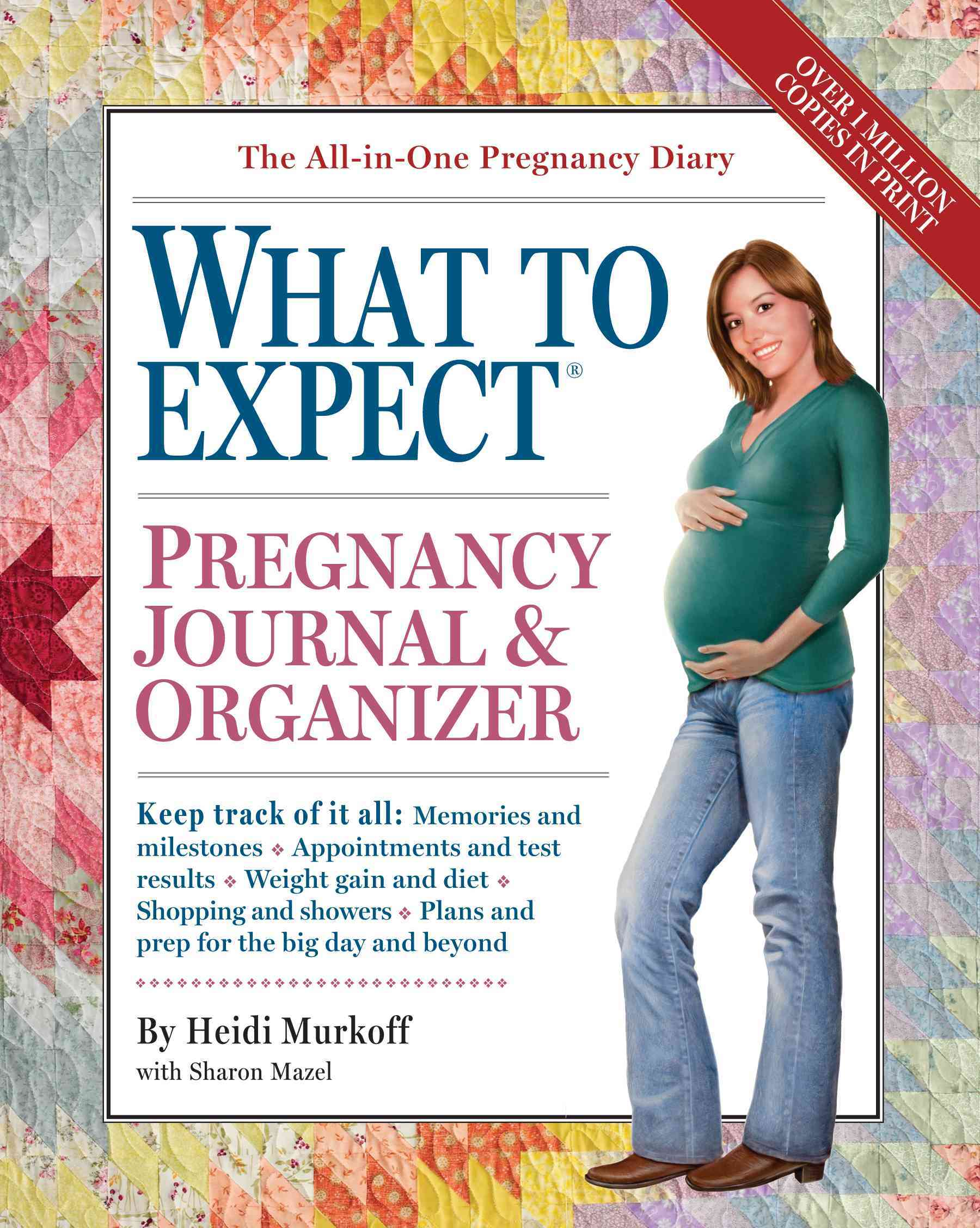 What to Expect Pregnancy Journal & Organizer (Notebook / blank book)
