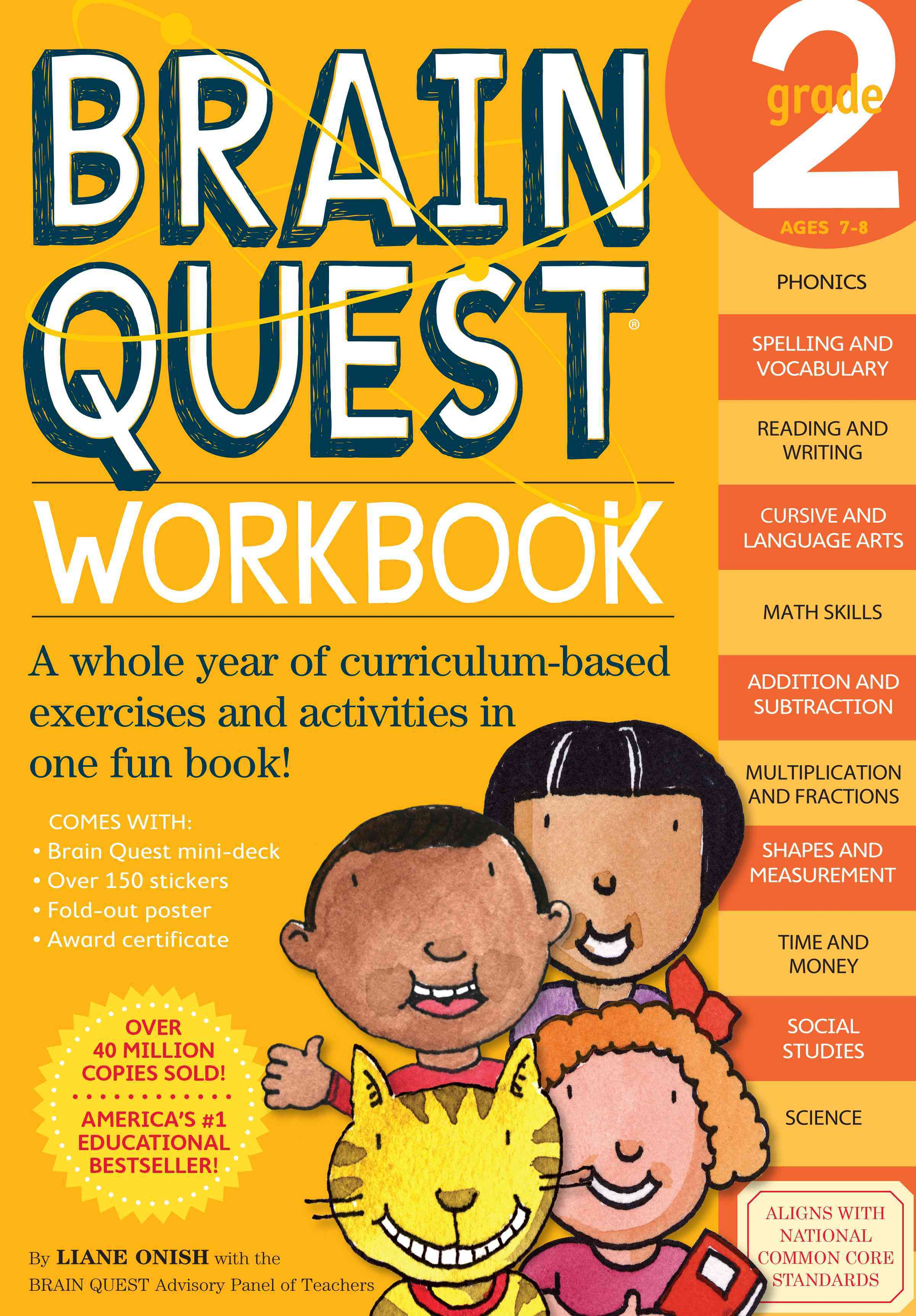 Brain Quest Workbook Grade 2 (Paperback)
