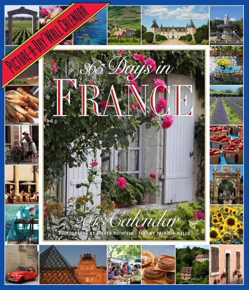 365 Days in France 2013 Calendar