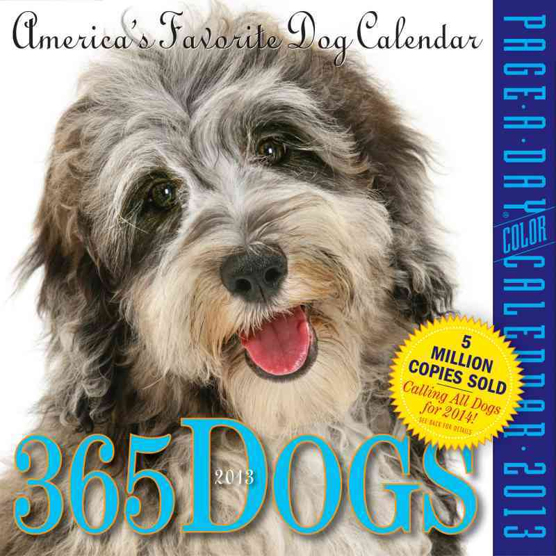 365 Dogs Calendar 2013