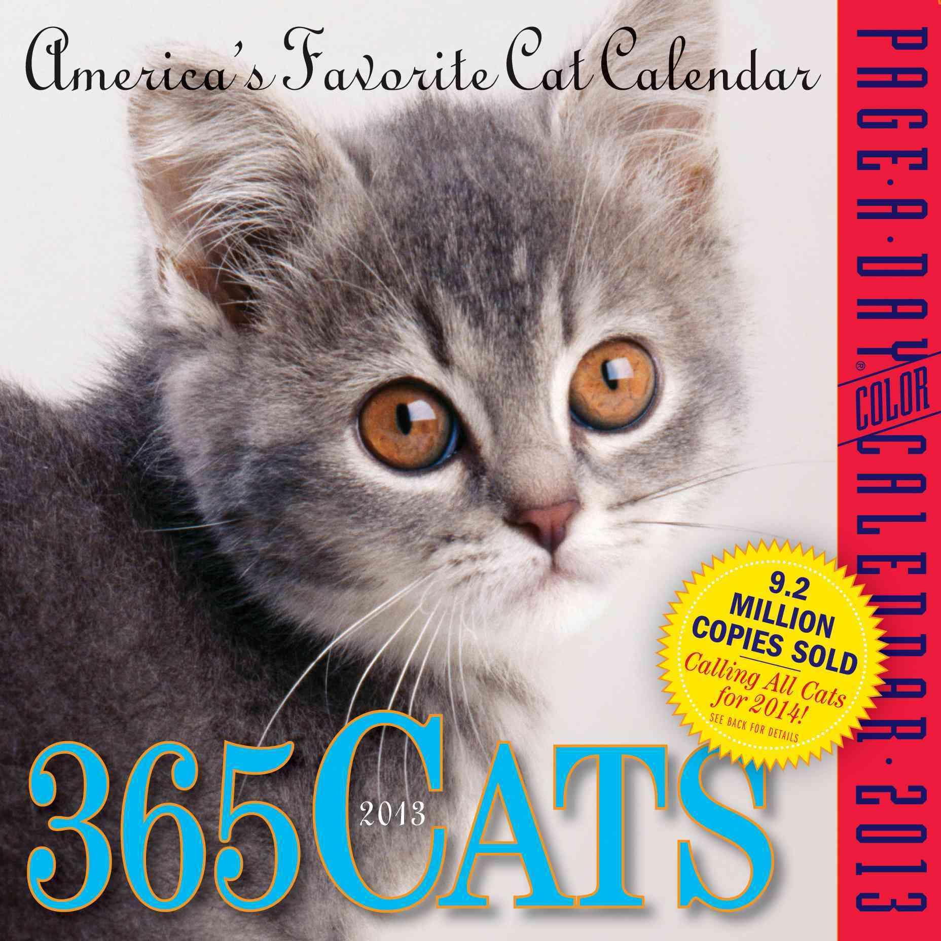 365 Cats Calendar 2013