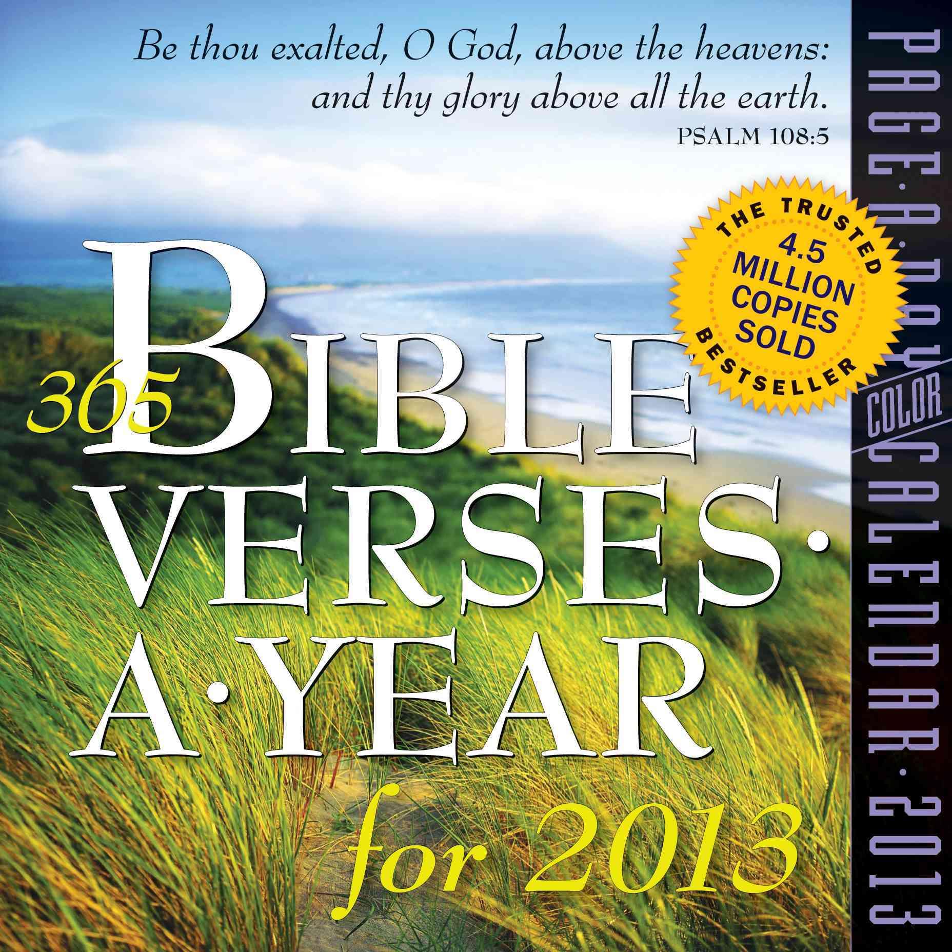 365 Bible Verses a Year 2013 Calendar (Calendar)