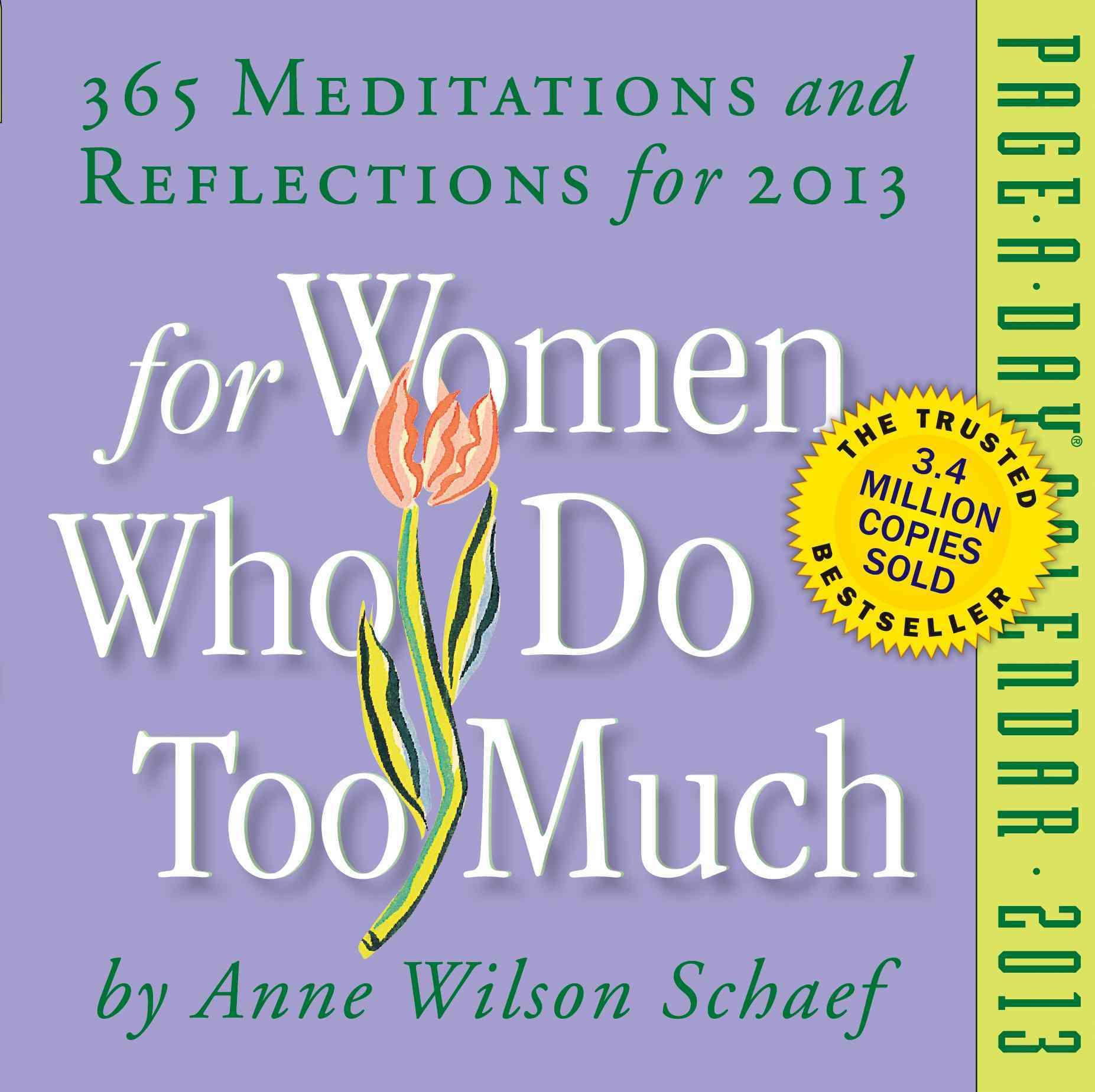 For Women Who Do Too Much Calendar 2013