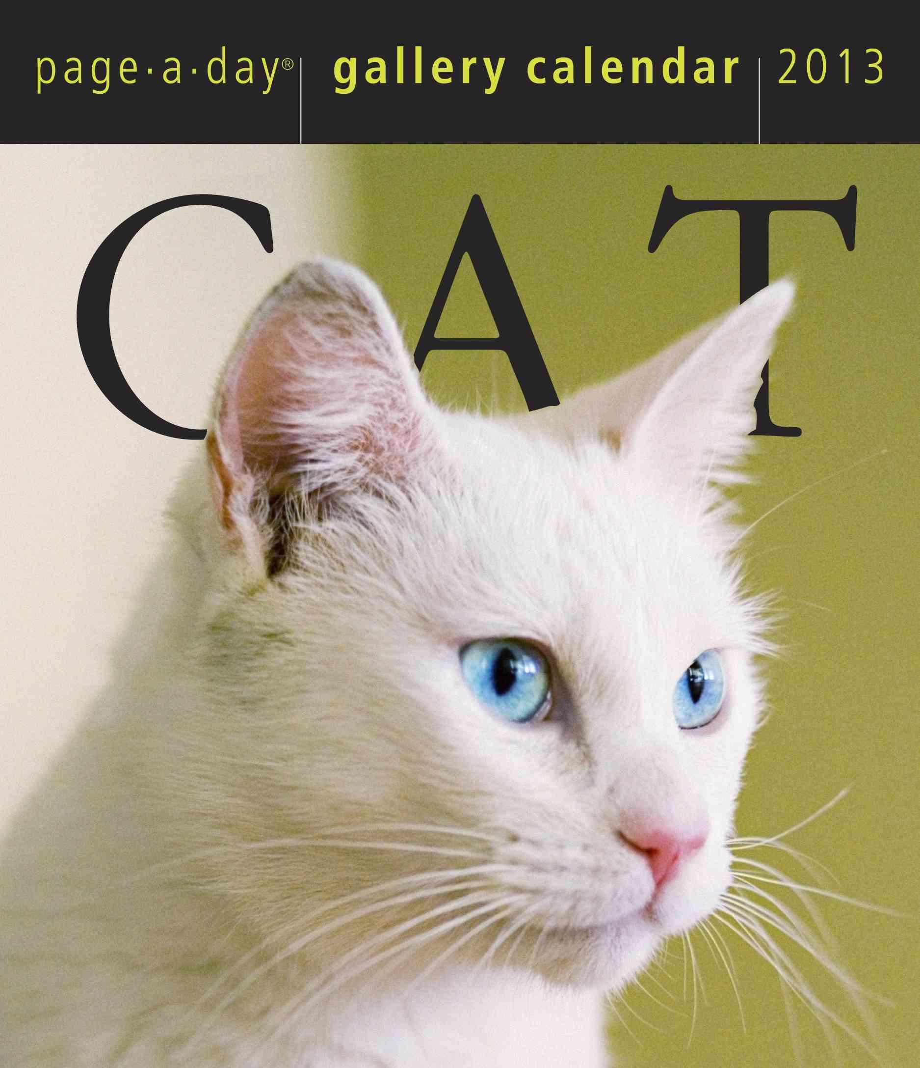 Cat Gallery 2013 Calendar