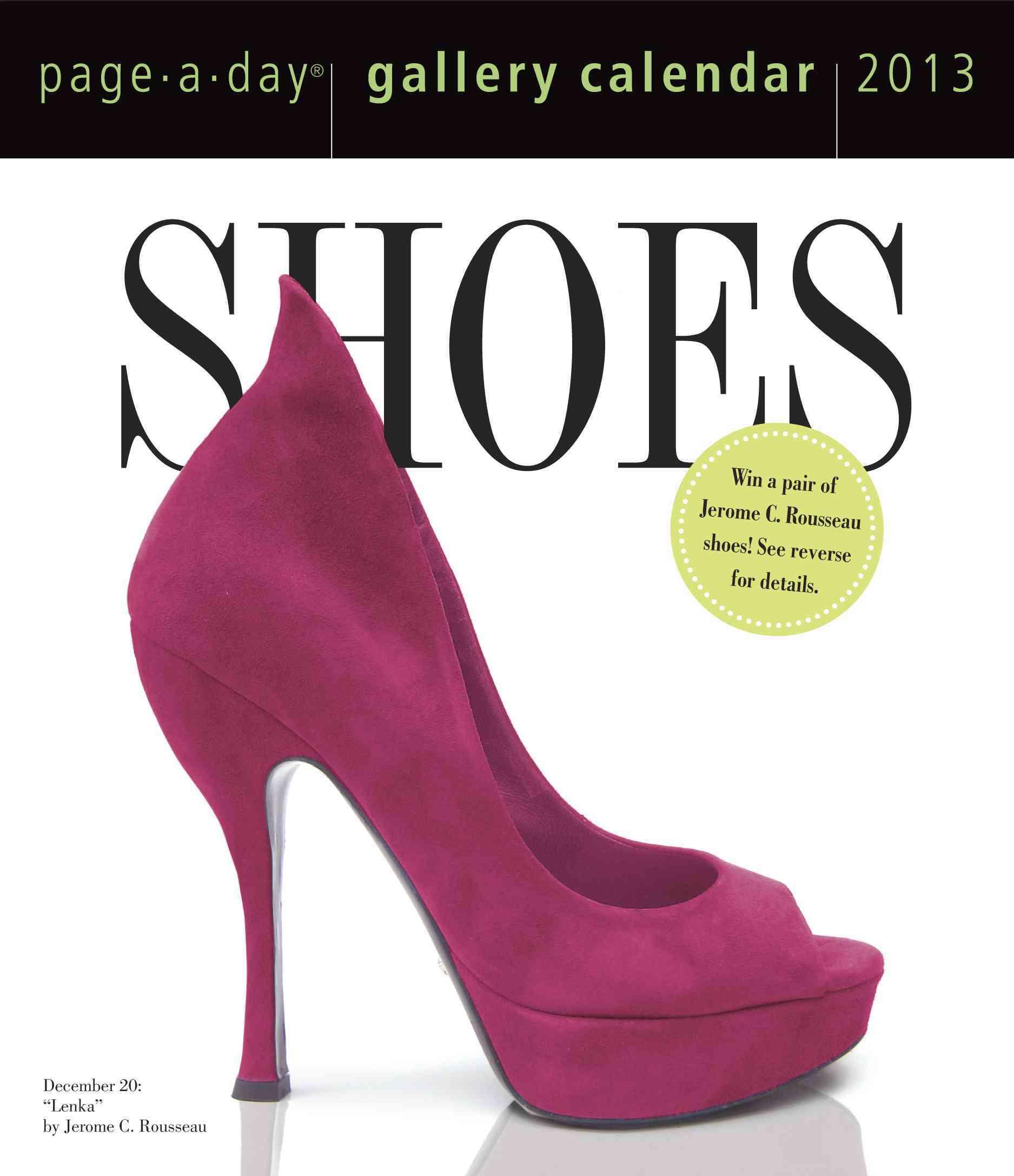 Shoes Gallery 2013 Calendar