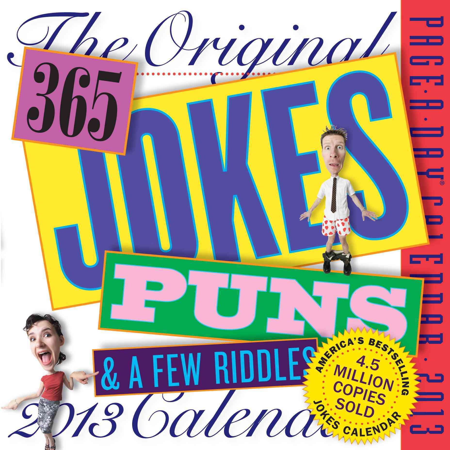 The Original 365 Jokes, Puns & a Few Riddles 2013 Calendar