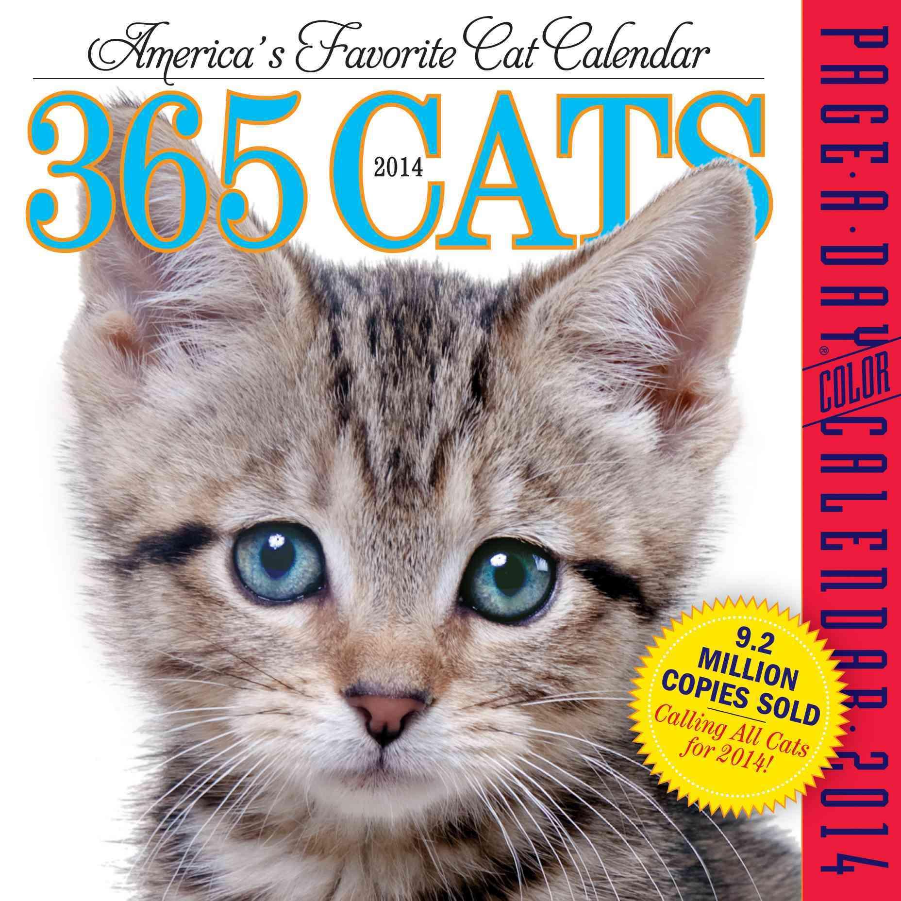 365 Cats 2014 Calendar (Calendar)