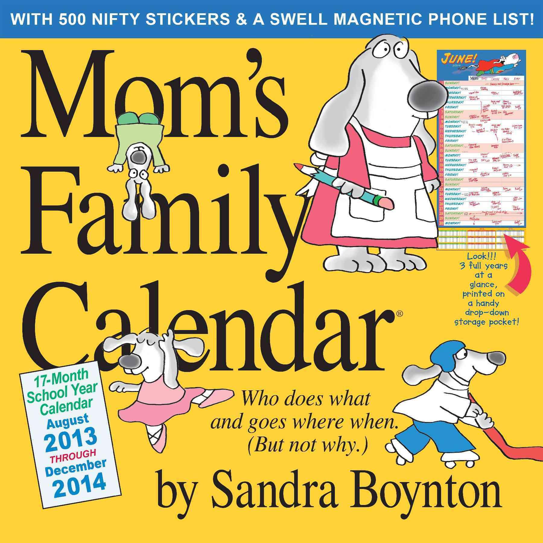 Mom's Family 17-Month 2014 Calendar (Calendar)