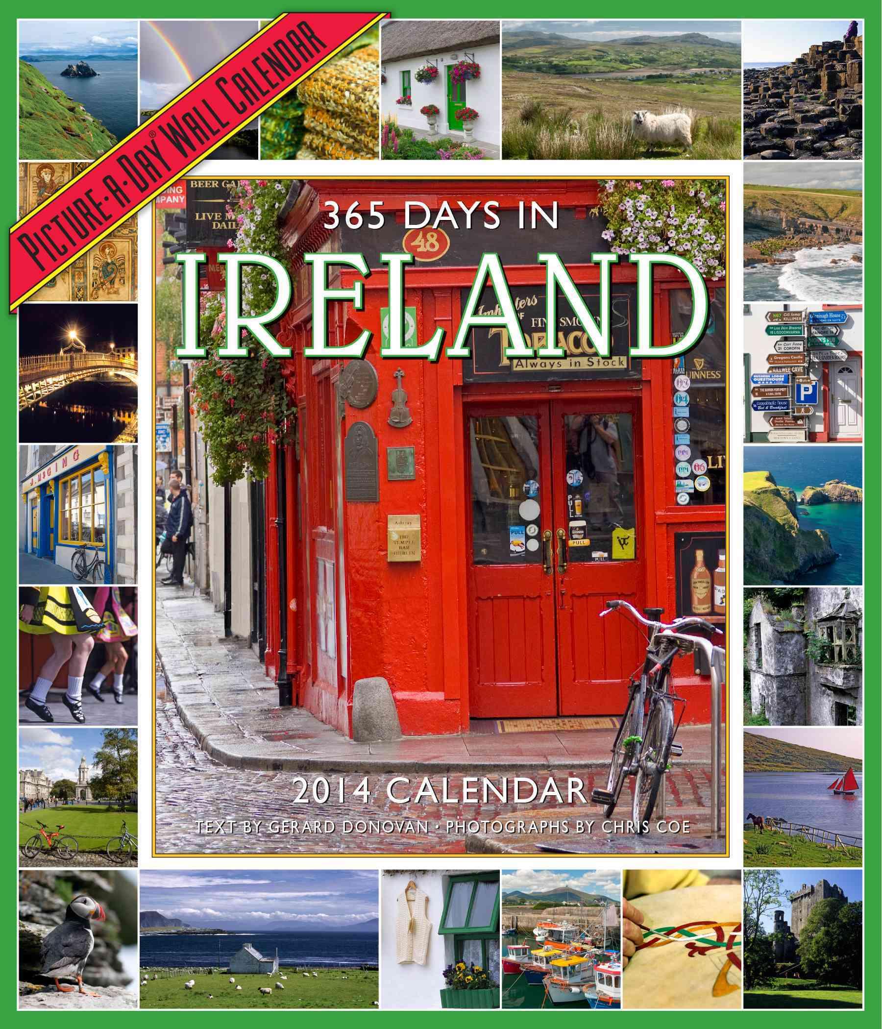 365 Days in Ireland 2014 Calendar (Calendar)