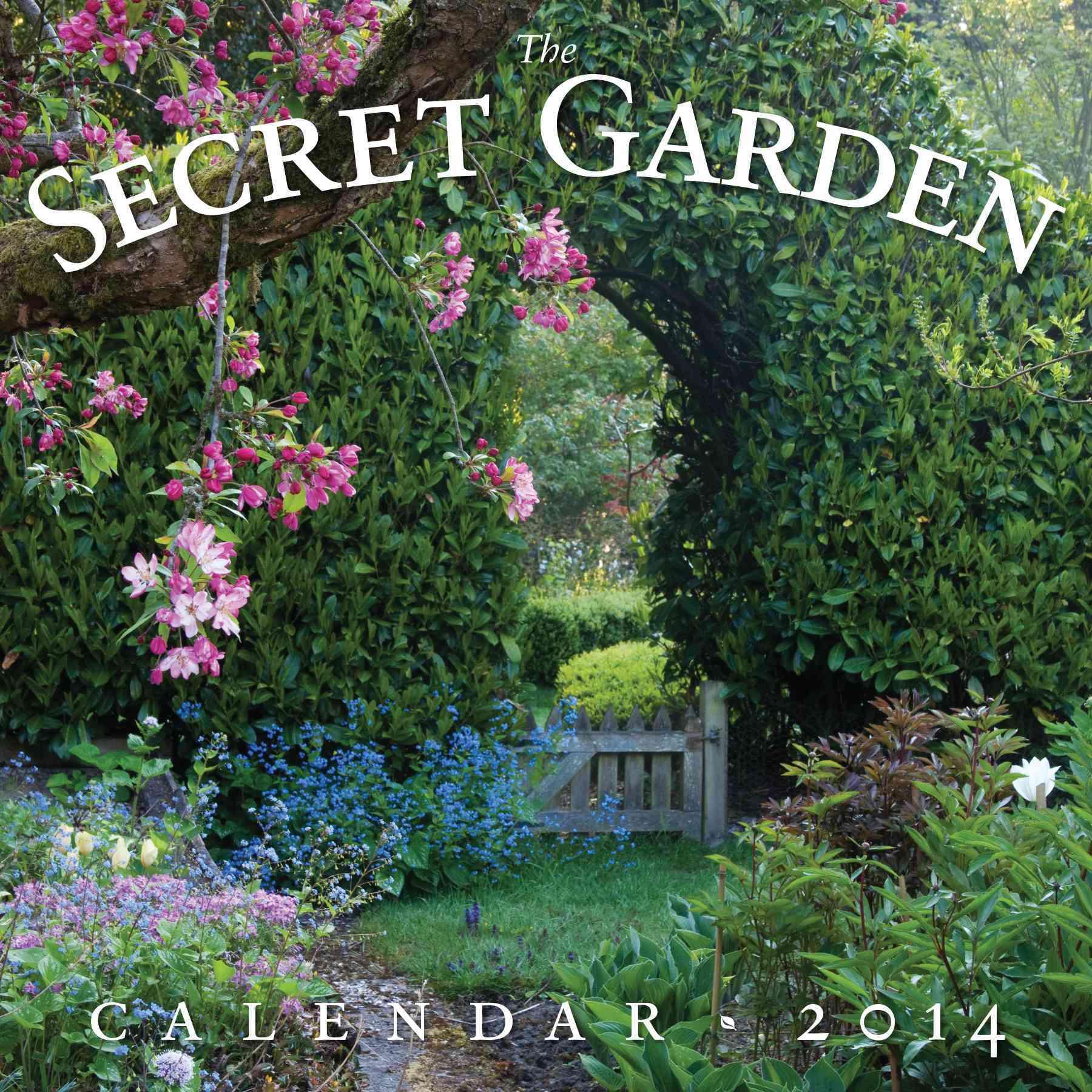 The Secret Garden 2014 Calendar: Includes Free Digital Page-a-day Calendar (Calendar)