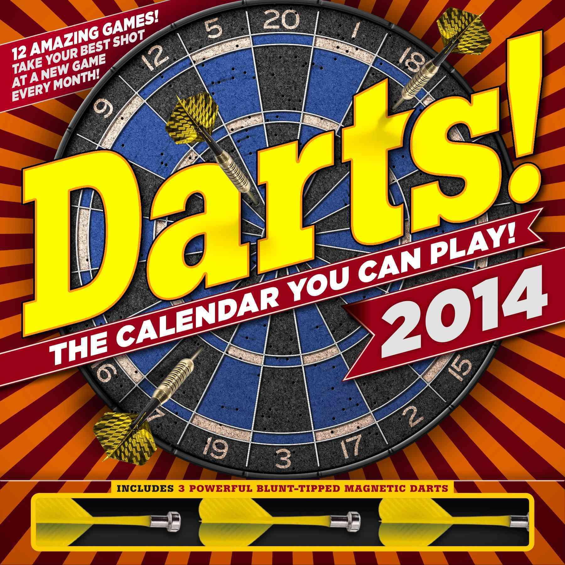 Darts! 2014 Calendar (Calendar)