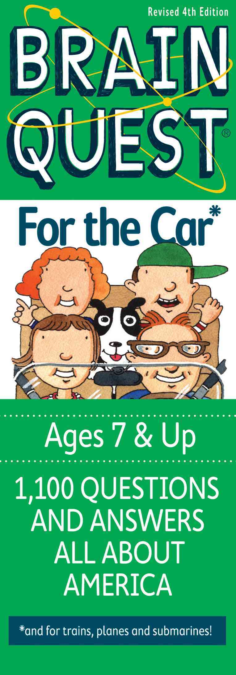 Brain Quest For the Car: 1,100 Questions and Answers All About America (Cards)