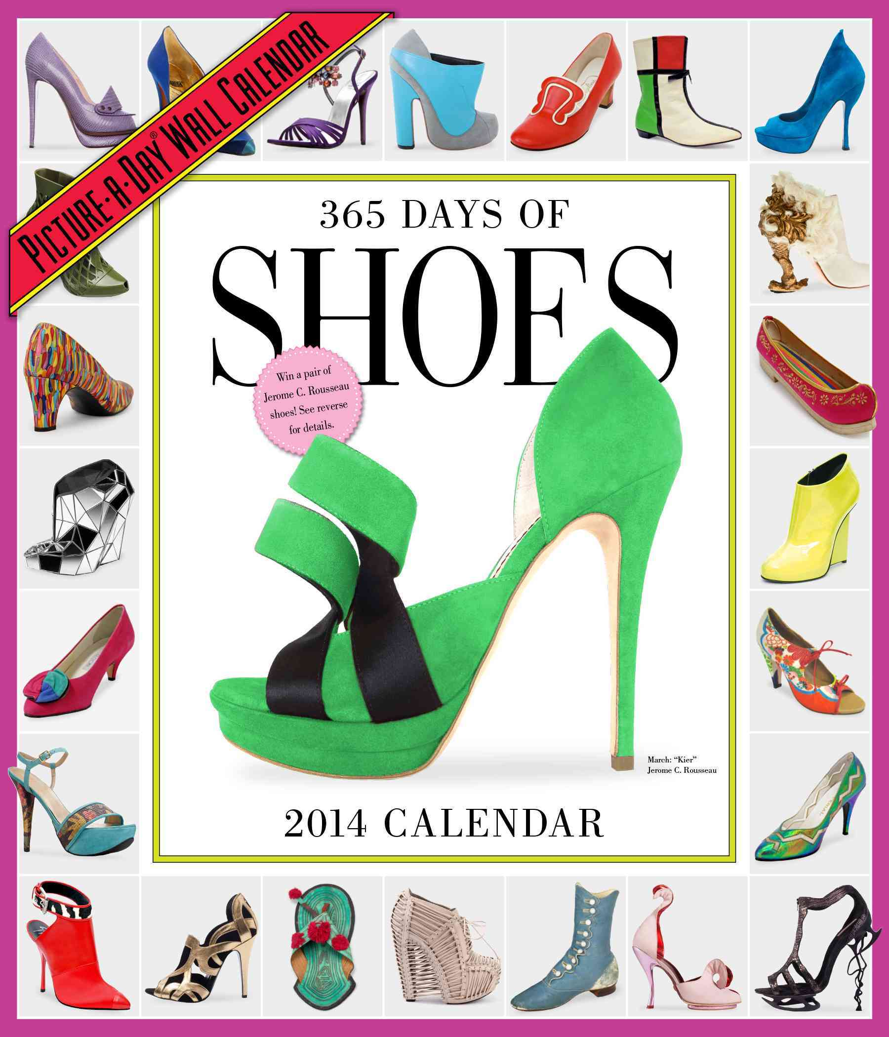 365 Days of Shoes 2014 Calendar (Calendar)