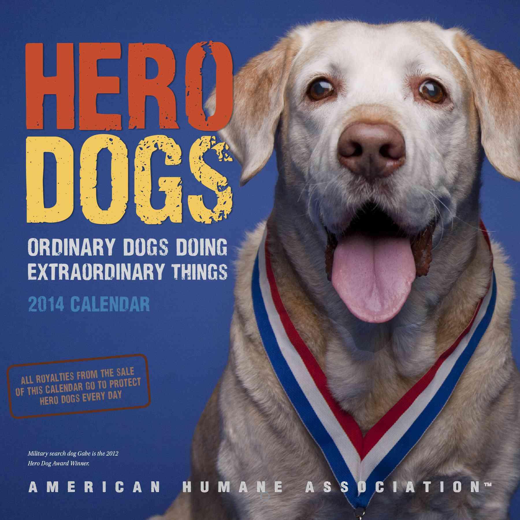 Hero Dogs 2014 Calendar: Ordinary Dogs Doing Extraordinary Things (Calendar)