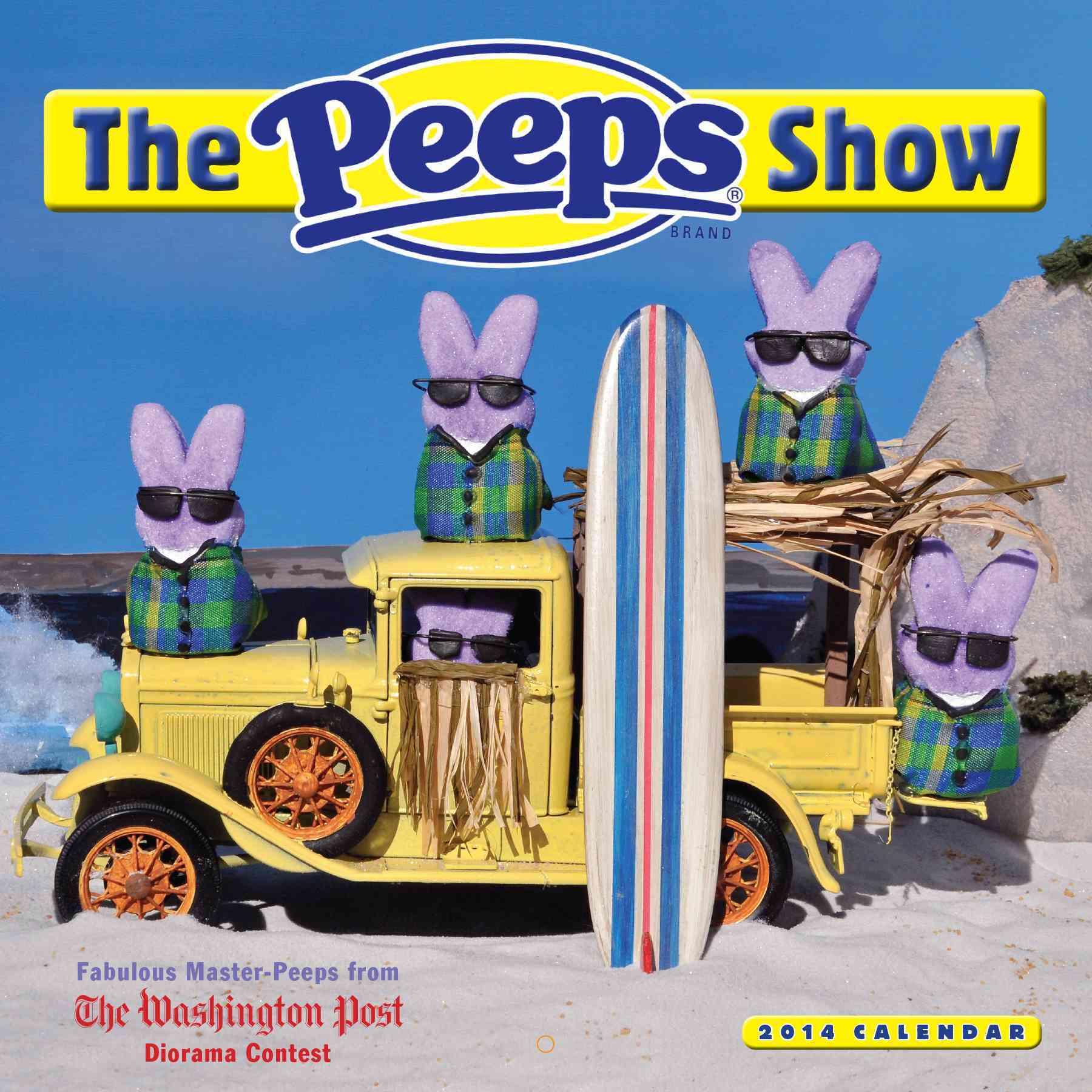 The Peeps Show 2014 Calendar (Calendar)
