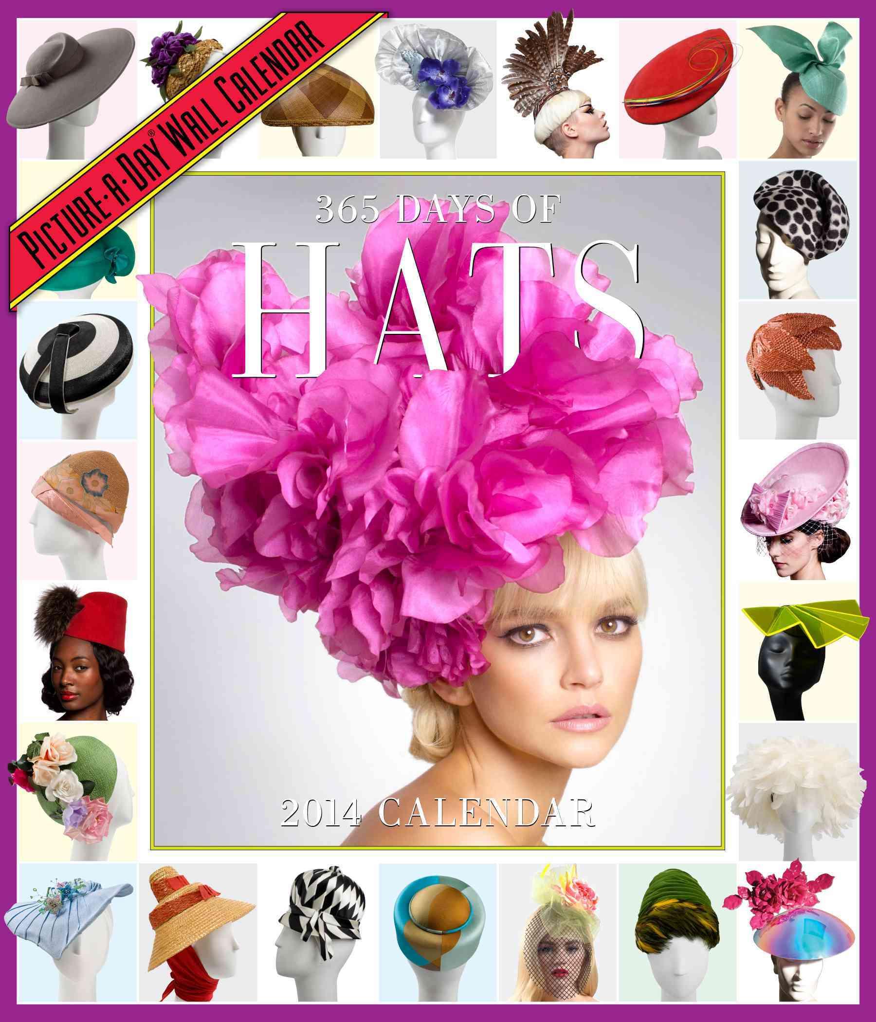 365 Days of Hats 2014 Calendar (Calendar)