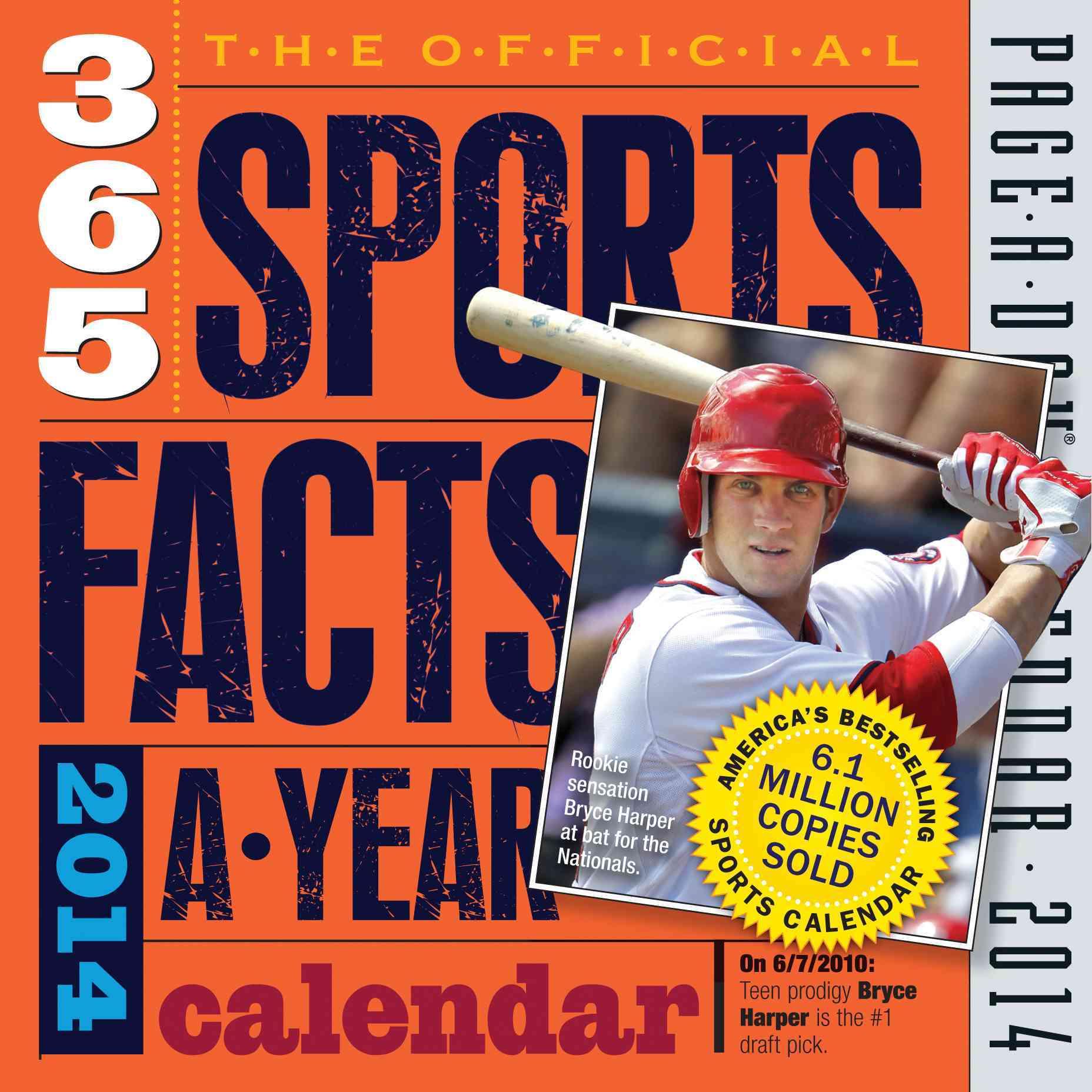 The Official 365 Sports Facts-a-Year 2014 Calendar (Calendar)
