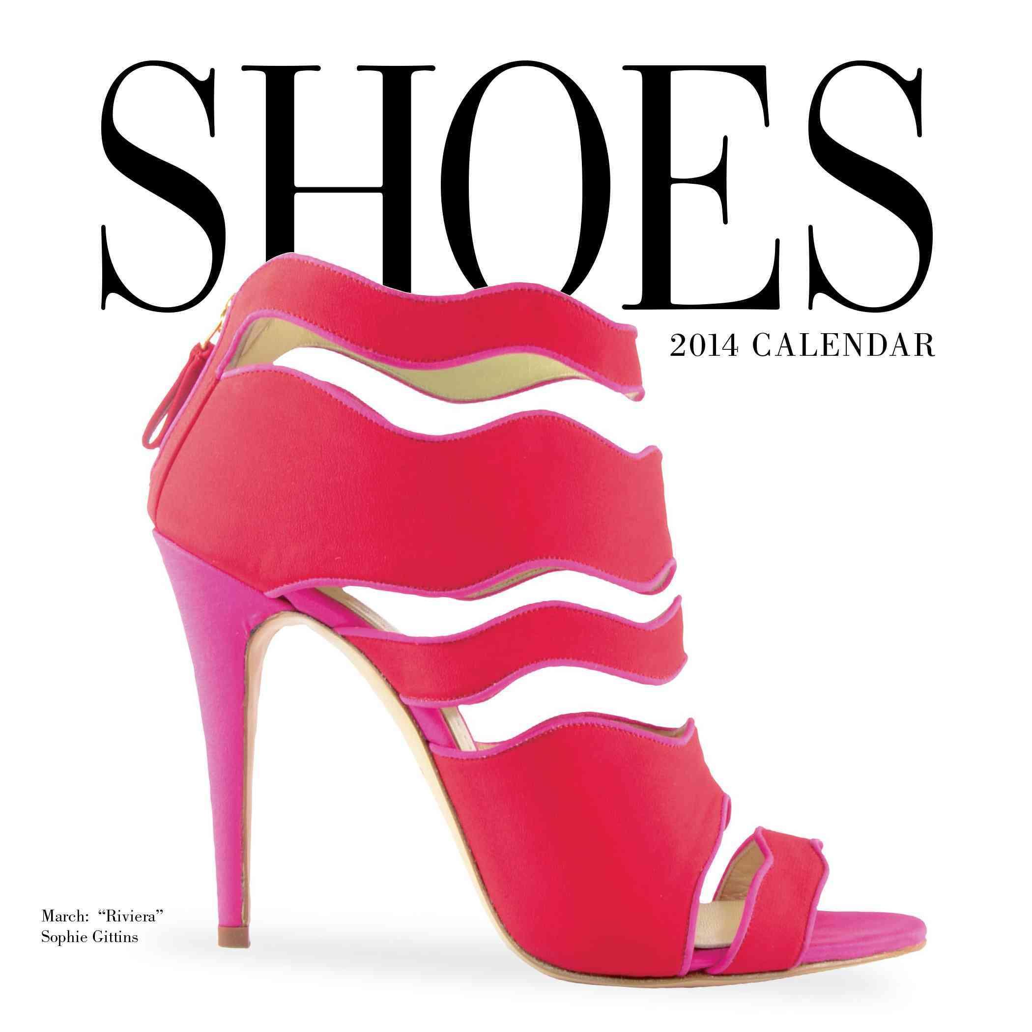 Shoes 2014 Calendar (Calendar)