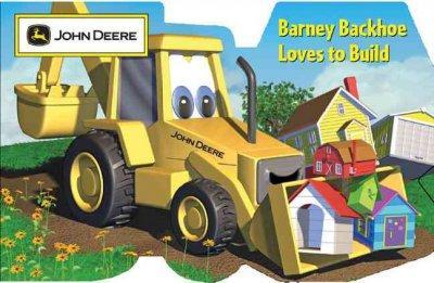 Barney Backhoe Loves to Build (Board book)
