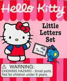 Hello Kitty: Little Letters Set (Hardcover)