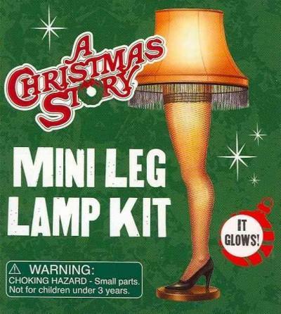 A Christmas Story Leg Lamp Kit (Paperback)