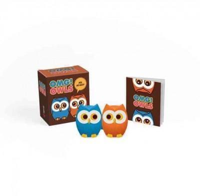 Omg! Owls: Hey, We Hoot! (Paperback)