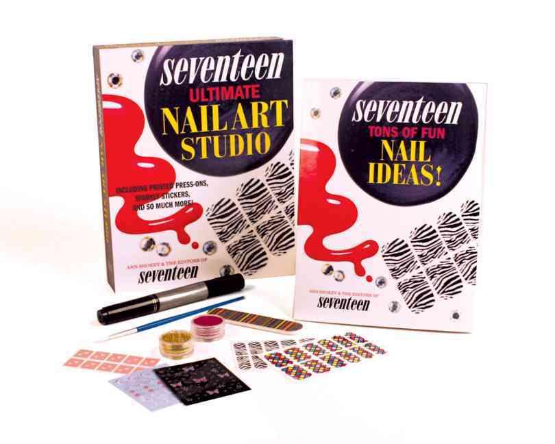 Seventeen Ultimate Nail Art Studio (Paperback)