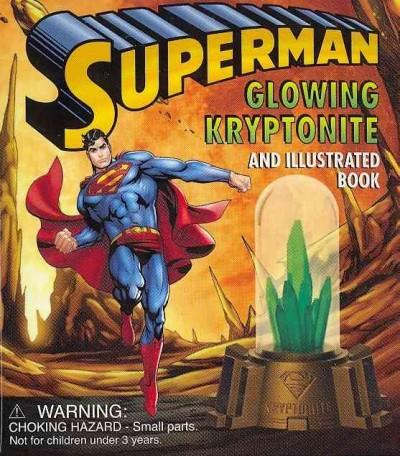 Superman Glowing Kryptonite (Hardcover)