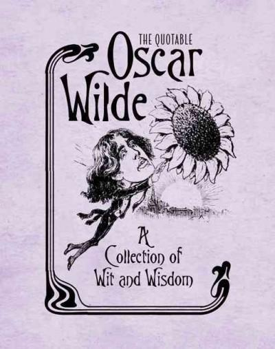 The Quotable Oscar Wilde (Hardcover)