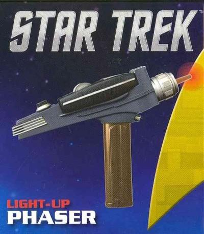 Star Trek Light-Up Phaser (Paperback)