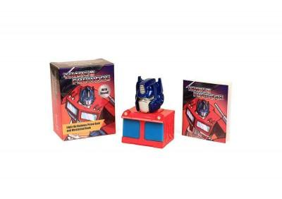 Transformers: Light-Up Optimus Prime Bust + Illustrated Book: With Sound!
