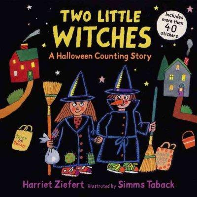 Two Little Witches: A Halloween Counting Story (Paperback)
