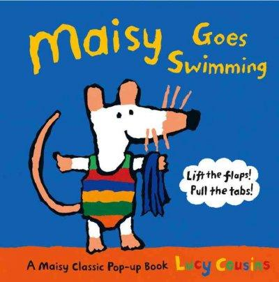 Maisy Goes Swimming (Hardcover) - Thumbnail 0