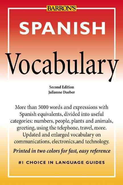 Spanish Vocabulary (Paperback)