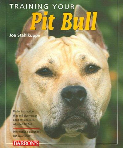 Training Your Pit Bull (Paperback) - Thumbnail 0