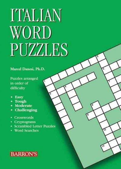 Italian Word Puzzles (Paperback)
