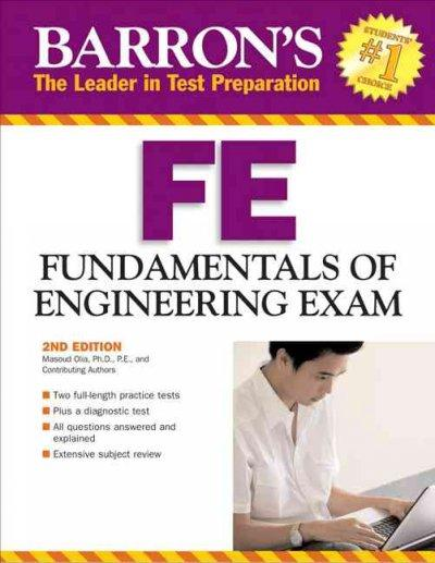 Barron's FE: Fundamentals of Engineering Exam (Paperback)
