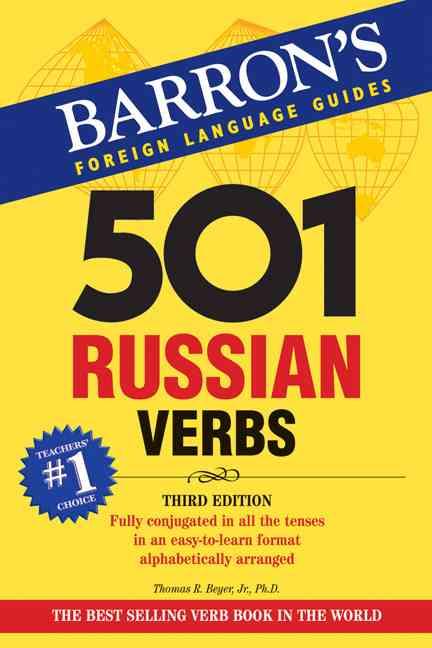 501 Russian Verbs (Paperback)