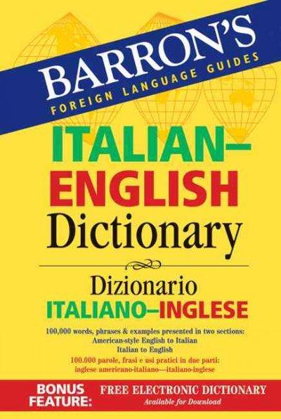 Barron's Italian-English Dictionary: Dizionario Italiano-Inglese (Paperback)