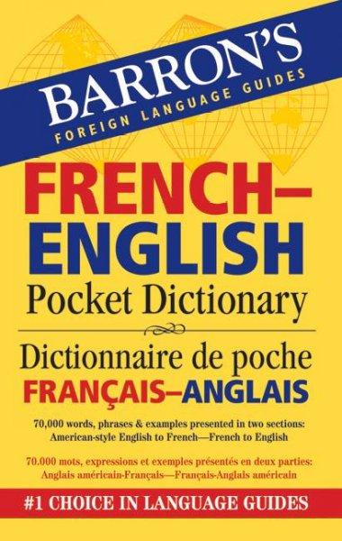 Barron's French-English Pocket Bilingual Dictionary (Paperback)