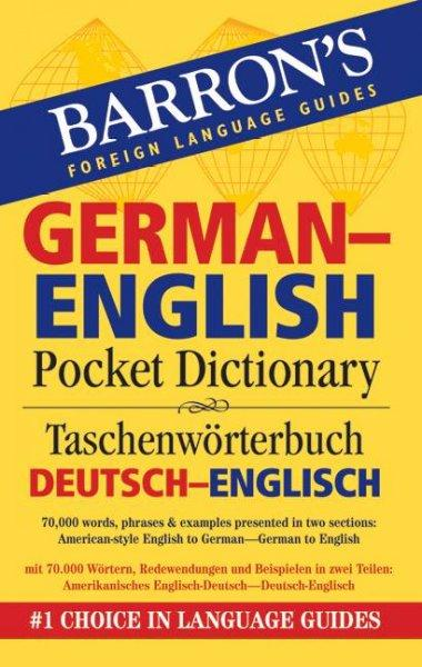 Barron's German-English Pocket Bilingual Dictionary (Paperback)