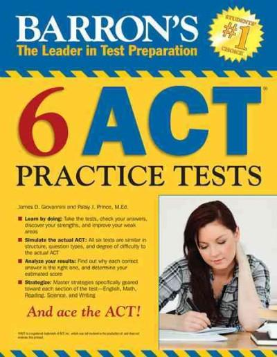 Barron's 6 Act Practice Tests: Barron's the Leader in Test Preparation (Paperback)