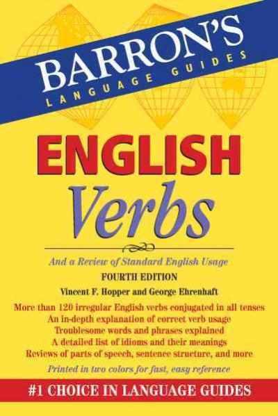 English Verbs: And a Review of Standard English Usage (Paperback)