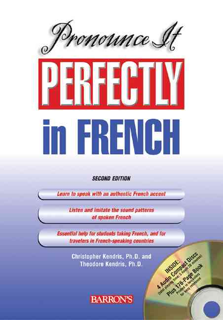 Pronounce It Perfectly In French (CD-Audio)