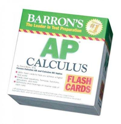 Barron's AP Calculus Flash Cards: Covers Calculus Ab and Bc Topics (Cards)