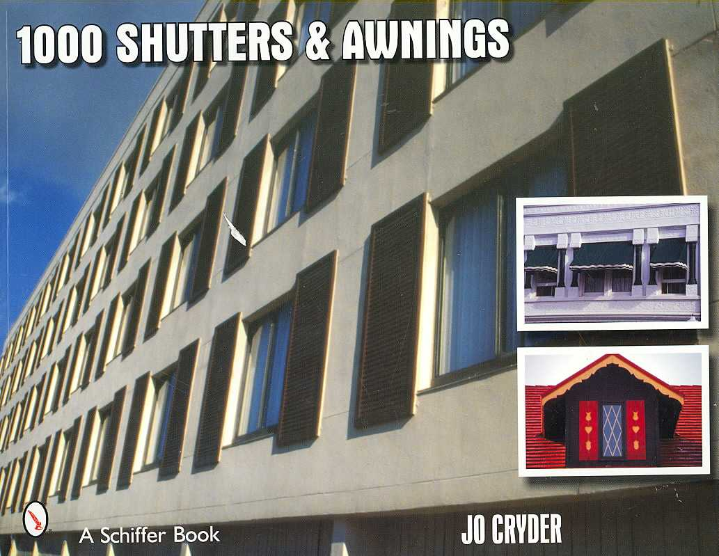 1000 Shutters and Awnings (Paperback)