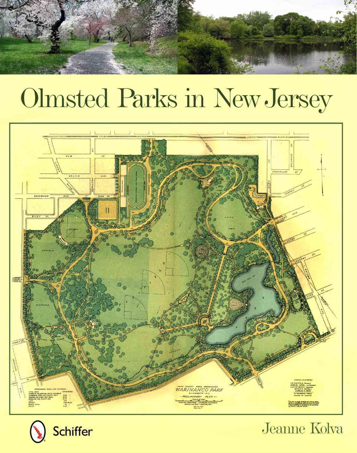 Olmsted Parks in New Jersey (Hardcover)