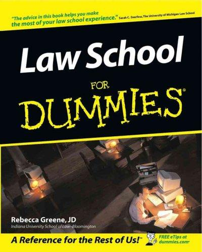Law School for Dummies (Paperback)