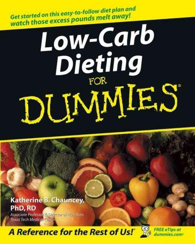 Low-Carb Dieting for Dummies (Paperback)